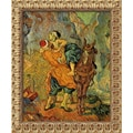 Amanti Art Vincent Van Gogh in.The Good Samaritan (After Delacroix)in. Framed Art, 23 1/2in. x 19 1/2in.