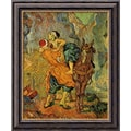 Amanti Art Vincent Van Gogh in.The Good Samaritan (After Delacroix)in. Framed Art, 24in. x 20in.