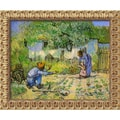 Amanti Art Vincent Van Gogh in.First Steps, 1890in. Framed Art, 19 1/2in. x 23 1/2in.
