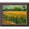 Amanti Art Vincent Van Gogh in.View of Arles With Irises, 1888in. Framed Art, 20in. x 24in.