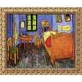 Amanti Art Van Gogh in.Bedroom at Arles, St. Remy, September 1889in. Framed Art, 19 1/2in.(H) x 23 1/2in.(W)