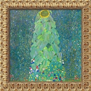 Amanti Art Gustav Klimt The Sunflower, c.1906-1907 Framed Cavas Art, 19 1/2 x 19 1/2