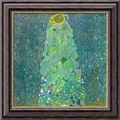 Amanti Art Gustav Klimt in.The Sunflower, c.1906-1907in. Framed Cavas Art, 20in. x 20in.