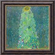 Amanti Art Gustav Klimt The Sunflower, c.1906-1907 Framed Cavas Art, 20 x 20