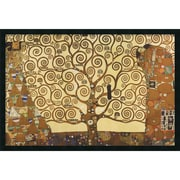 "Amanti Art Gustav Klimt ""The Tree Of Life, 1905-1911"" Framed Print Art, 25.38"" x 37.38"""