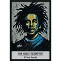 Amanti Art David Garibaldi in.Garibaldi - Bob Marleyin. Framed Print Art, 37.38in. x 25.38in.