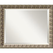 Amanti Art 22.88 x 18.88 Argento Medium Wall Mirror, Champagne