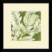 "Amanti Art Erin Clark ""Meadow Leaves"" Framed Art, 13.12"" x 13.12"""