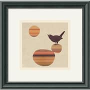 Amanti Art Amy Ruppel Fly on the Wall Framed Animal Art, 11.12 x 11.25