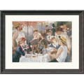 Amanti Art Auguste in.Luncheon of the Boating Party...in. Framed Art, 18 1/4in. x 22 1/4in.