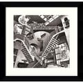 Amanti Art M.C. Escher in.Relativityin. Framed Print Art, 23.38in. x 24.38in.