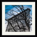 Amanti Art Erin Clark in.Gotham Grandeurin. Framed Print Art, 32.62in. x 32.62in.