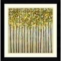 Amanti Art Libby Smart in.Different Shades of Greenin. Framed Print Art, 26.62in. x 26.62in.