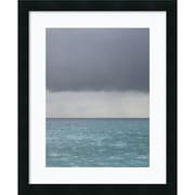 "Amanti Art Brian Leighton ""Bleu 8"" Framed Print Art, 22"" x 18"""