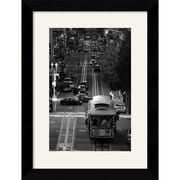 "Amanti Art Sabri Irmak ""Streets of San Francisco"" Framed Print Art, 25.5"" x 19.62"""