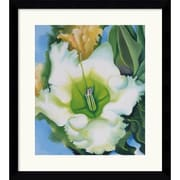 "Amanti Art Georgia O'Keeffe ""Cup of Silver Ginger, 1939"" Framed Art, 33"" x 29.62"""