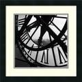 Amanti Art Tom Artin in.Orsay Clockin. Framed Print Art, 18in. x 18in.