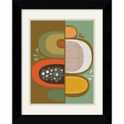 "Amanti Art Jenn Ski ""Division No. 2"" Framed Art, 21"" x 18.62"""