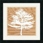 "Amanti Art Erin Clark ""Frosty Tree"" Framed Art, 18"" x 18"""