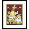 Amanti Art Steve Forney in.Du Vin Blanc Extraordinairein. Framed Print Art, 20in. x 17.12in.