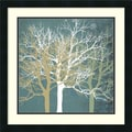 Amanti Art Erin Clark in.Tranquil Treesin. Framed Print Art, 22in. x 22in.