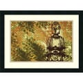 Amanti Art Erin Clark in.Zen Gardenin. Framed Print Art, 18in. x 24in.
