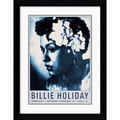 Amanti Art in.Billie Holiday: Town Hall NYC, 1946in. Framed Print Art, 30.62in. x 24in.