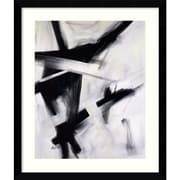 "Amanti Art Eva Carter ""Black and White"" Framed Art, 38.62"" x 32.62"""