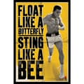 Amanti Art in.Ali - Float Like a Butterflyin. Framed Art, 36.62in. x 24.75in.