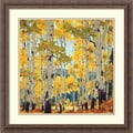 Amanti Art William Hook in.September Aspenin. Framed Print Art, 22 1/4in. x 22 1/4in.
