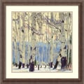 Amanti Art William Hook in.December Aspenin. Framed Print Art, 22 1/4in. x 22 1/4in.