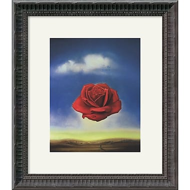 Amanti Art Salvador Dali in.The Rosein. Framed Art, 16 1/4in. x 14 1/4in.