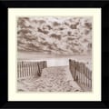 Amanti Art Michael Kahn in.South Beachin. Framed Print Art, 22.62in. x 22.62in.
