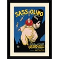 Amanti Art in.Sassolinoin. Framed Print Art, 34.5in. x 26.12in.