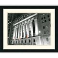 Amanti Art Phil Maier in.New York Stock Exchange at Nightin. Framed Print Art, 18 3/4in. x 23 1/4in.