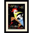 Amanti Art in.Carnival, Havana, 1952in. Framed Print Art, 33.38in. x 24.62in.