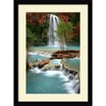 Amanti Art Andy Magee in.Havasu Paradisein. Framed Print Art, 38.62in. x 28.62in.
