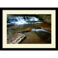 Amanti Art Andy Magee in.Collins Creekin. Framed Print Art, 28.62in. x 38.62in.