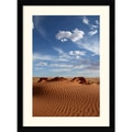 Amanti Art Andy Magee in.Desert Skyin. Framed Print Art, 38.62in. x 28.62in.