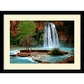 Amanti Art Andy Magee in.Havasu Fallsin. Framed Print Art, 28.62in. x 38.62in.