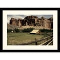 Amanti Art Andy Magee in.Fruita Barnin. Framed Print Art, 28.62in. x 38.62in.