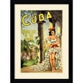 Amanti Art in.Cuba, Holiday Isle of the Tropicsin. Framed Print Art, 32.62in. x 24in.