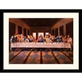 Amanti Art William Ternay in.Last Supperin. Framed Print Art, 31.62in. x 41in.
