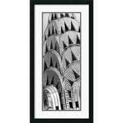 "Amanti Art Torsten Andreas Hoffman ""Chrysler Building"" Framed Print Art, 34"" x 17 1/2"""