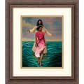 Amanti Art Sterling Brown in.He Walks With Mein. Framed Print Art, 16 1/4in. x 14 1/4in.