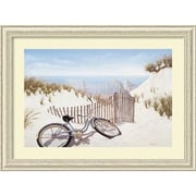 "Amanti Art Daniel Pollera ""Summer Memories"" Framed Print Art, 29.38"" x 39.38"""