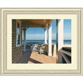 Amanti Art Daniel Pollera in.Nantucket Shorein. Framed Print Art, 27.38in. x 33.38in.