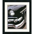 Amanti Art Mike Patrick in.Tail Fins and Two Tones IIin. Framed Print Art, 20in. x 17in.