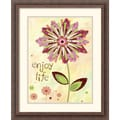 Amanti Art Wendy Bentley in.Petal Power Iin. Framed Print Art, 22 1/4in. x 18 1/4in.