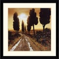 Amanti Art Steve Thoms in.Off for a Strollin. Framed Print Art, 32.62in. x 32.62in.
